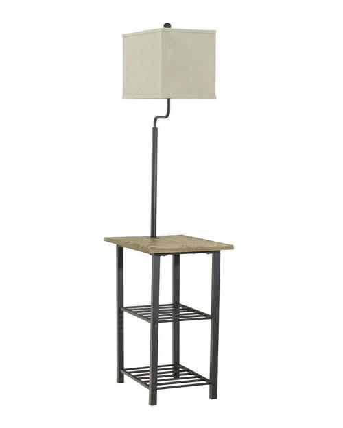 Shianne Black Metal Tray Lamp (1/CN)
