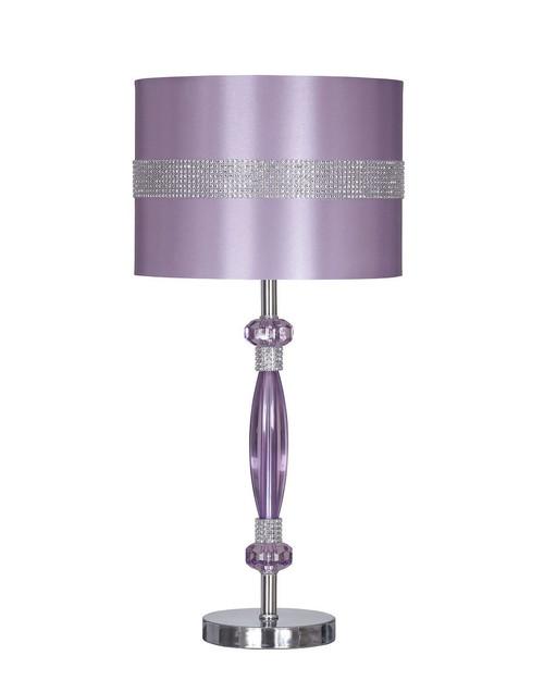 Nyssa Purple Metal Table Lamp (1/CN)
