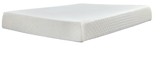 10 Inch Chime Memory Foam White Twin Mattress