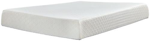 10 Inch Chime Memory Foam White Queen Mattress