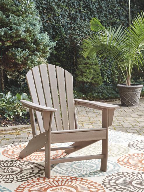 Sundown Treasure Grayish Brown Adirondack Chair