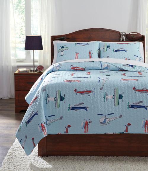 McAllen Multi Full Quilt Set