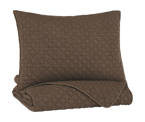 Ryter Brown Twin Coverlet Set