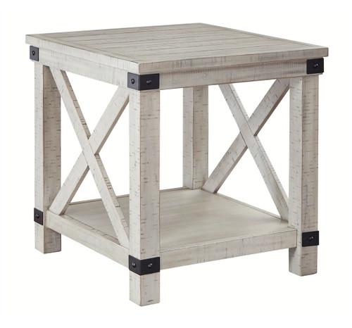 Carynhurst Whitewash Rectangular End Table