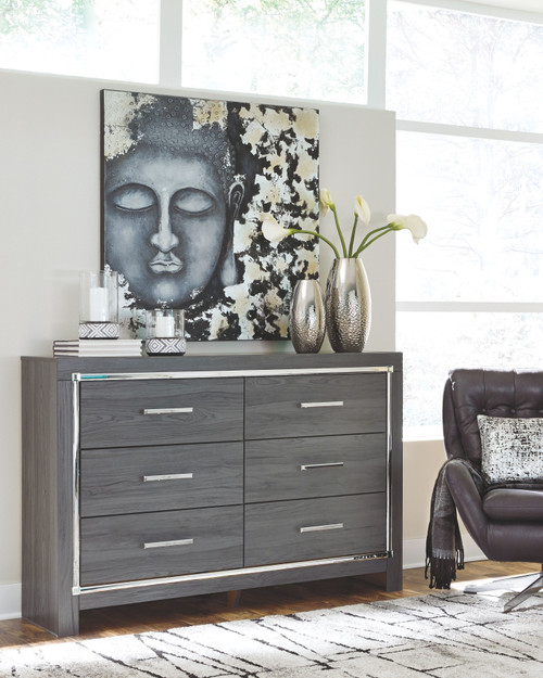 Lodanna Gray Dresser