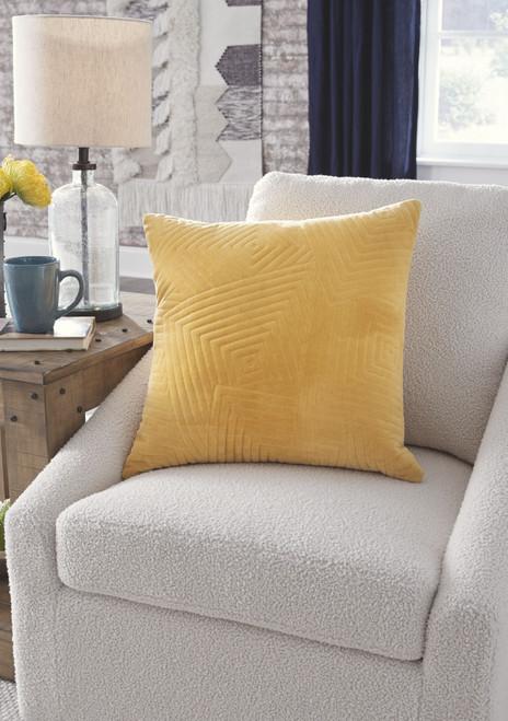 Kastel Golden Yellow Pillow (4/CS)