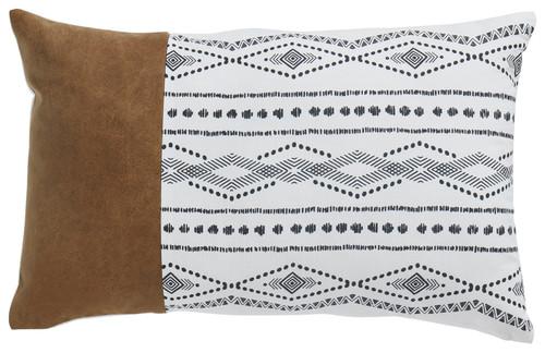 Lanston Caramel/Black/White Pillow (4/CS)
