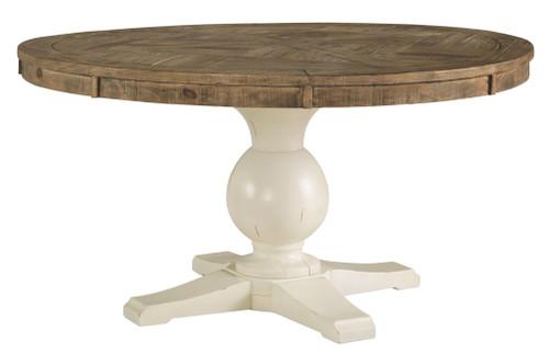 Grindleburg Light Brown Round Table