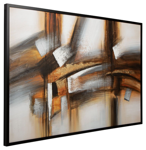 Trenick Gray/Brown/Black Wall Art