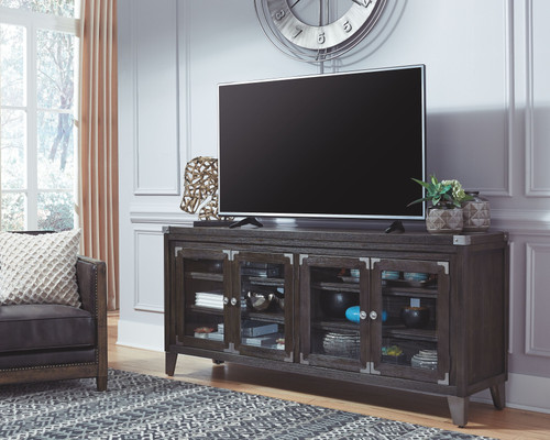 Todoe Gray Extra Large TV Stand