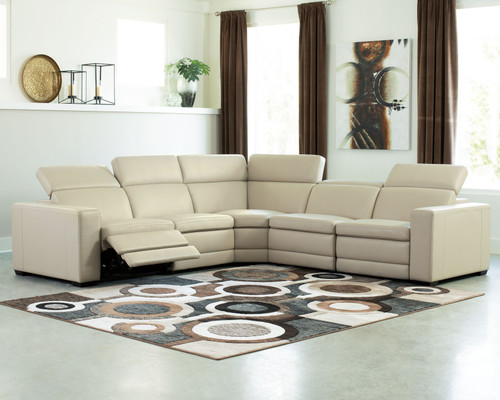 Texline Sand Power Reclining Sectional