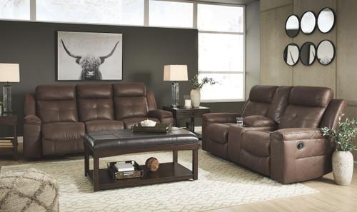 Jesolo Coffee 2 Pc. Reclining Sofa, Reclining Loveseat