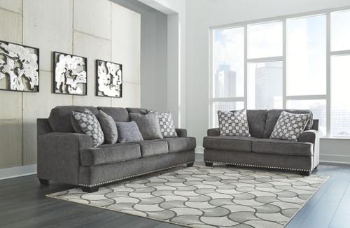 Locklin Carbon Sofa & Loveseat