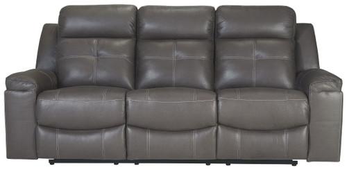 Jesolo Dark Gray Reclining Sofa