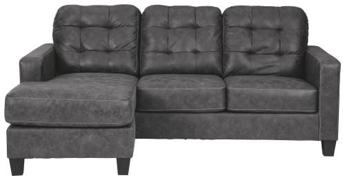 Venaldi Gunmetal Sofa Chaise