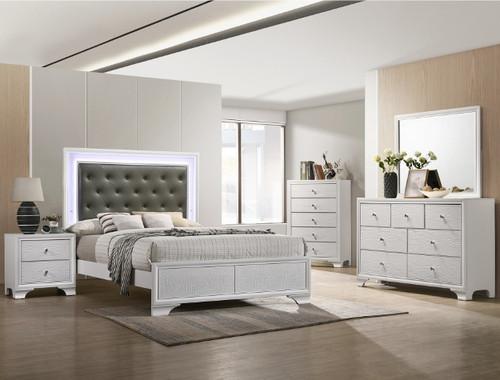 SETB4310 LYSSA BEDROOM FROST (SETB4310 LYSSA BEDROOM FROST)