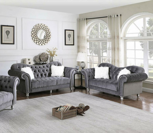 L357 Gray Sofa & Loveseat
