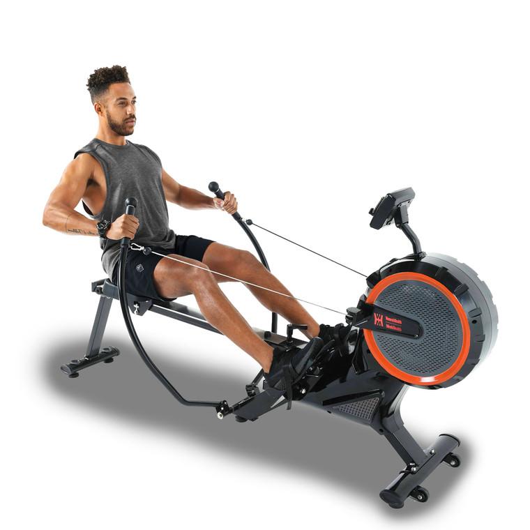 WOMEN'S HEALTH/MEN'S HEALTH Rower and MyCloudFitness Chest Belt