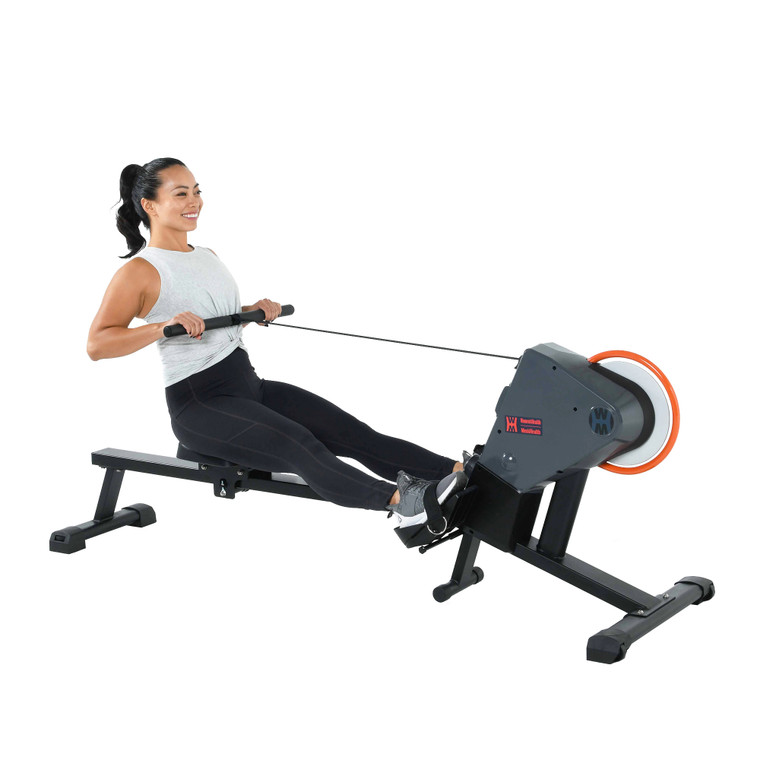 WOMENS HEALTH /MENS HEALTH Dual Transmission Rower and Chest Belt