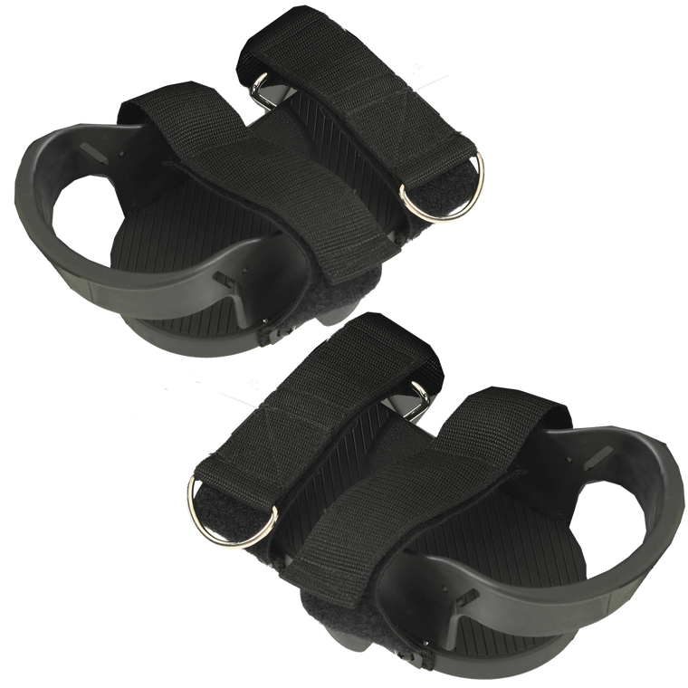 EXERPEUTIC Neurological Exercise Pedals with Velcro Straps