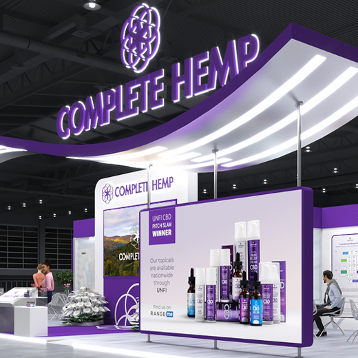 Complete Hemp Brings First Ever Interactive VR Expo Booth