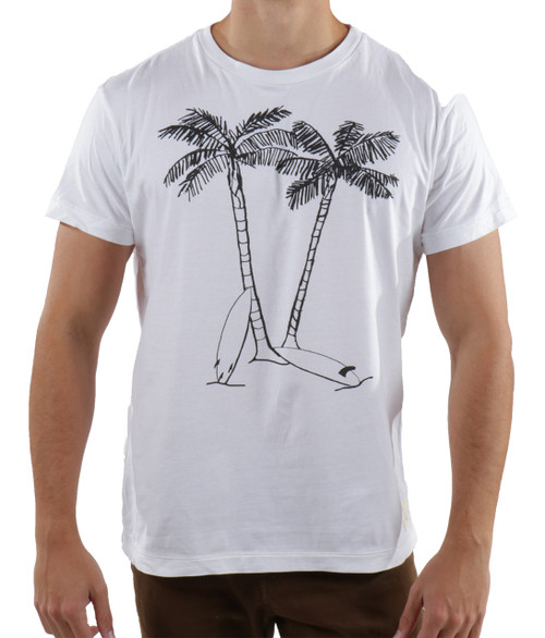 Quality graphic t-shirt crew - Surfboards