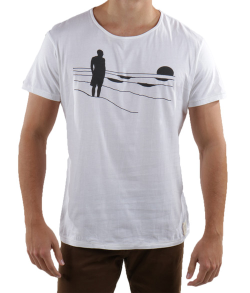 Beach Silhouette t-shirt- zoomed