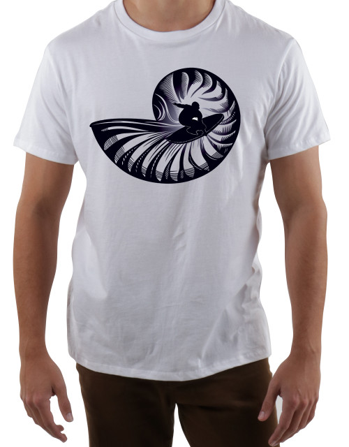 Nautilus Shredder Crew Organic Supima® Cotton T-shirt