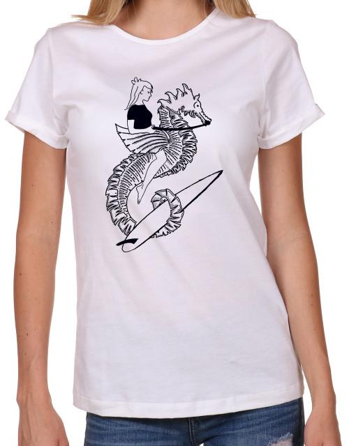 Sea Trip, Seahorse, Women's T-shirt
