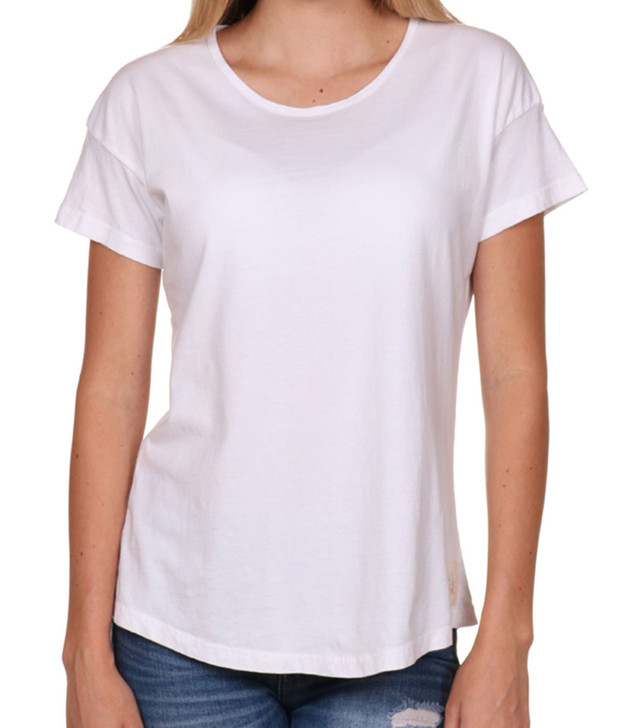 High Quality T-shirts, Women's, White t-shirt, Seashell Front