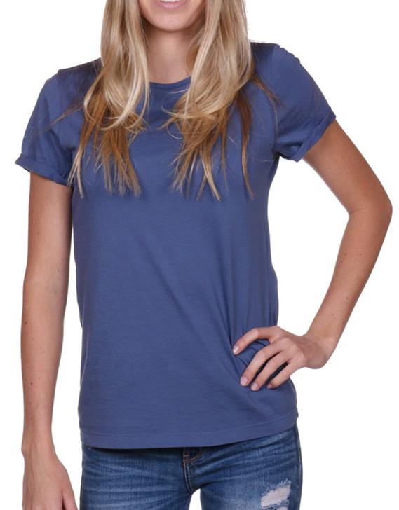 Women's t-shirt, Supima cotton, blue