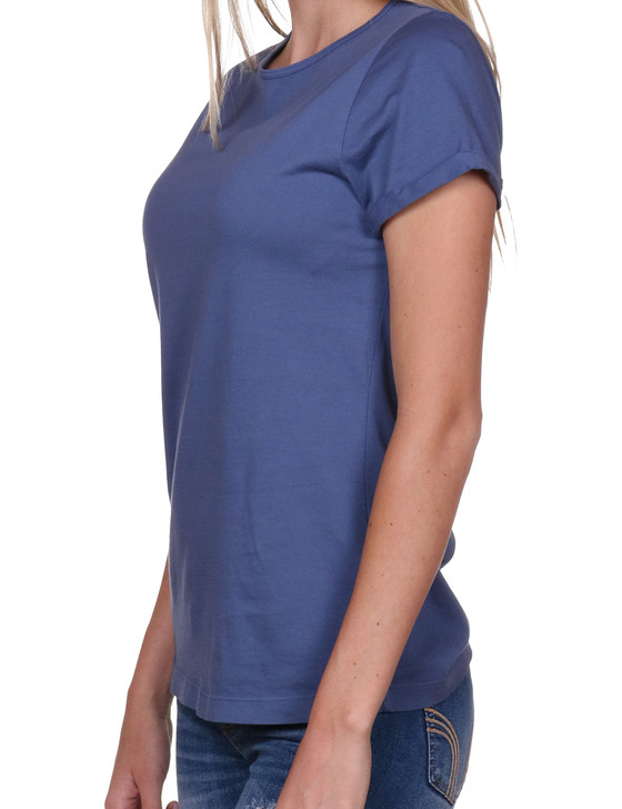 Women's Boyfriend T-shirt | Supima® | Indigo Blue