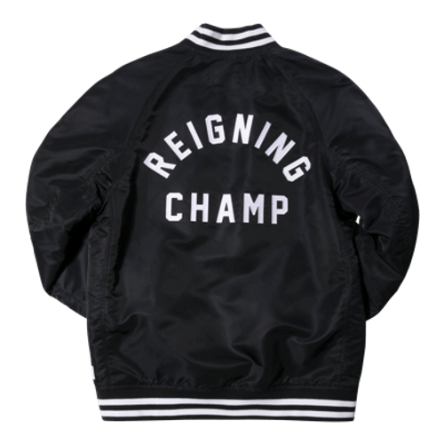 REIGNING CHAMP EMBROIDERED STADIUM JACKET