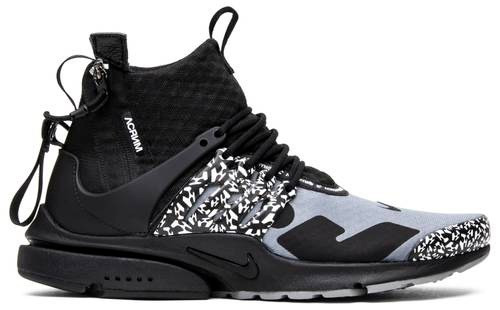 NIKE ACRONYM X AIR PRESTO MID - COOL GREY - 6.0