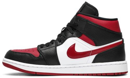 "NIKE AIR JORDAN 1 RETRO MID ""BRED TOE"""