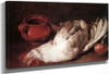Still Life With Hen, Onion And Pot By Giacomo Ceruti