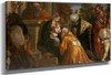 The Adoration Of The Magi2 By Paolo Veronese