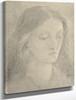 Head of Miss Elizabeth Siddal By Dante Gabriel Rossetti