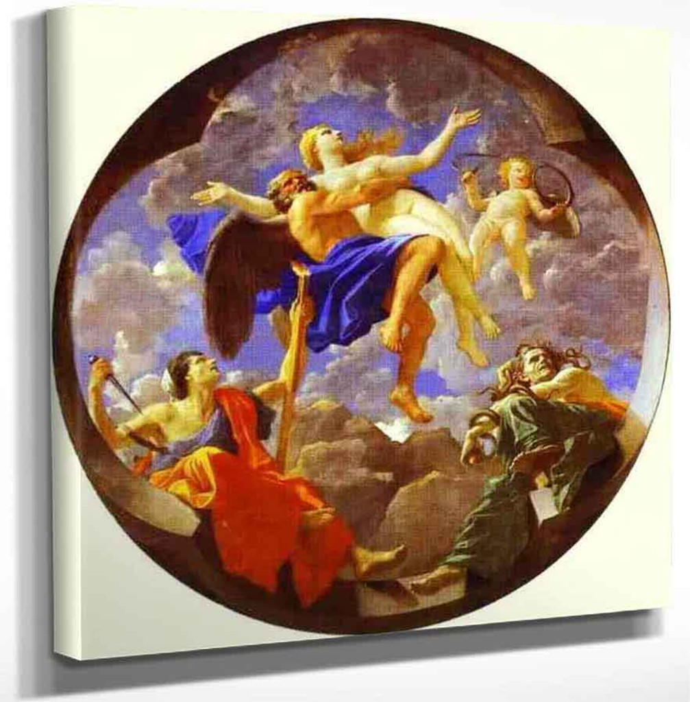 Time Revealing Truth With Envy And Discord By Nicolas Poussin