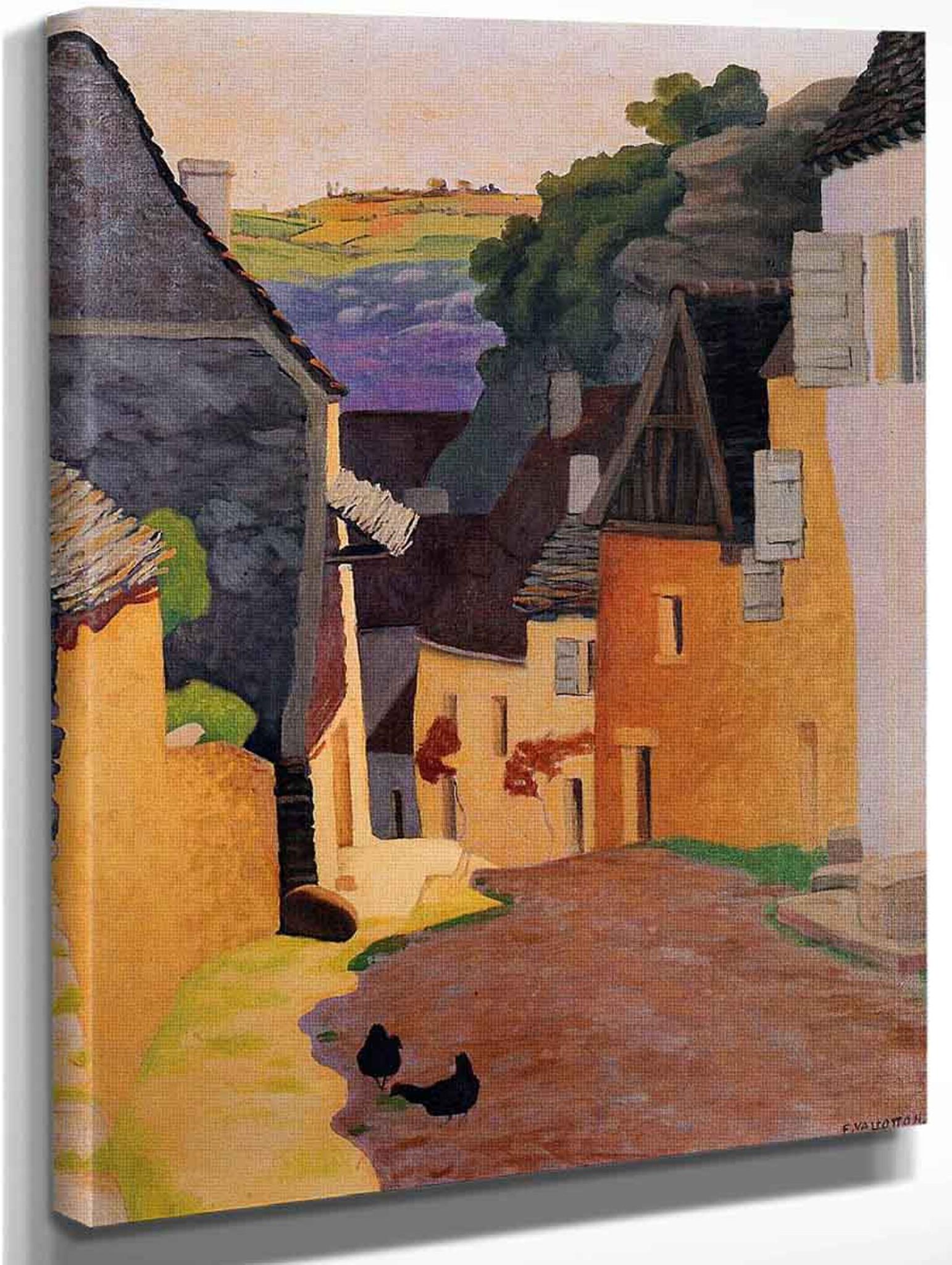 Rocamadour Landscape By Felix Vallotton