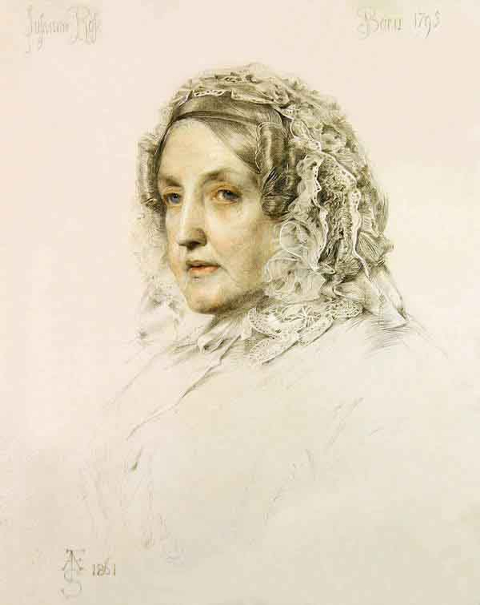 Susannah Rose By Anthony Frederick Sandys
