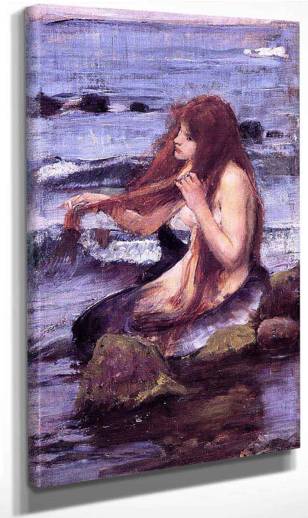 "John William Waterhouse Canvas Wall Art /""20 x 30/"" Boreas"