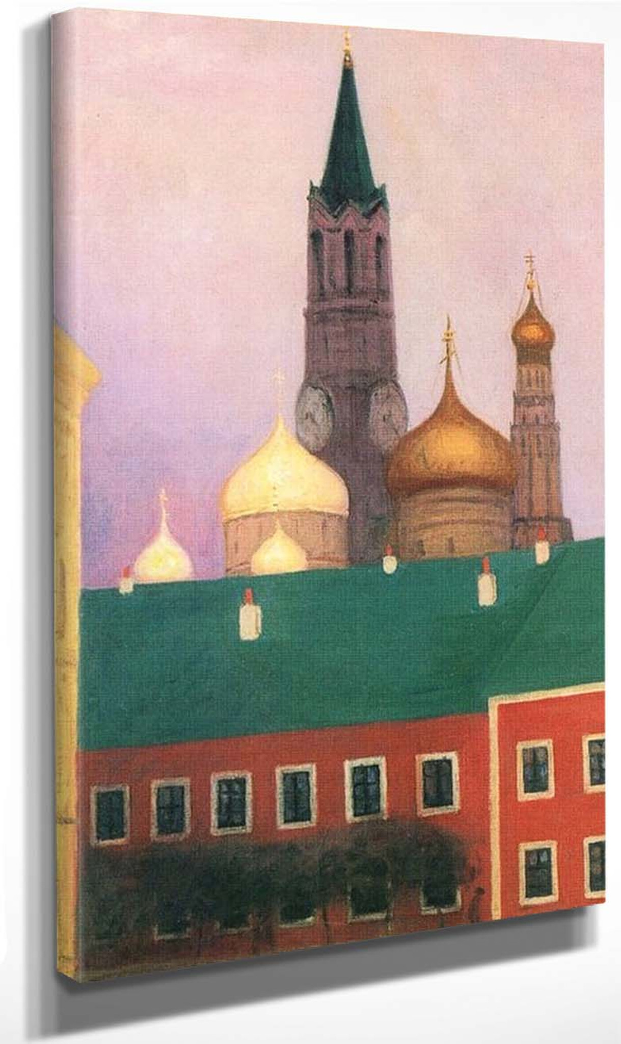 View Of The Kremlin In Moscow By Felix Vallotton