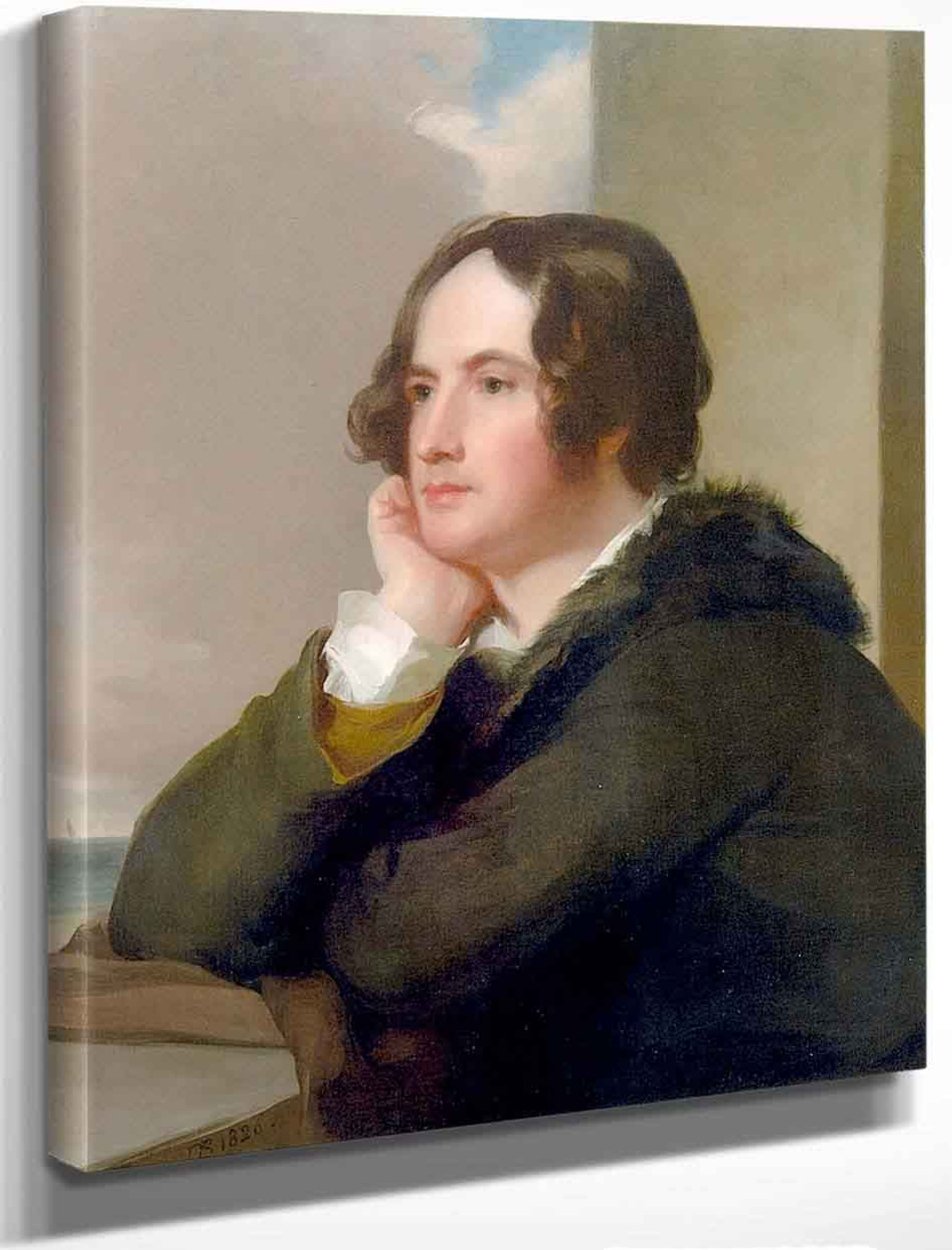 Nicholas Biddle By Thomas Sully Reproduction