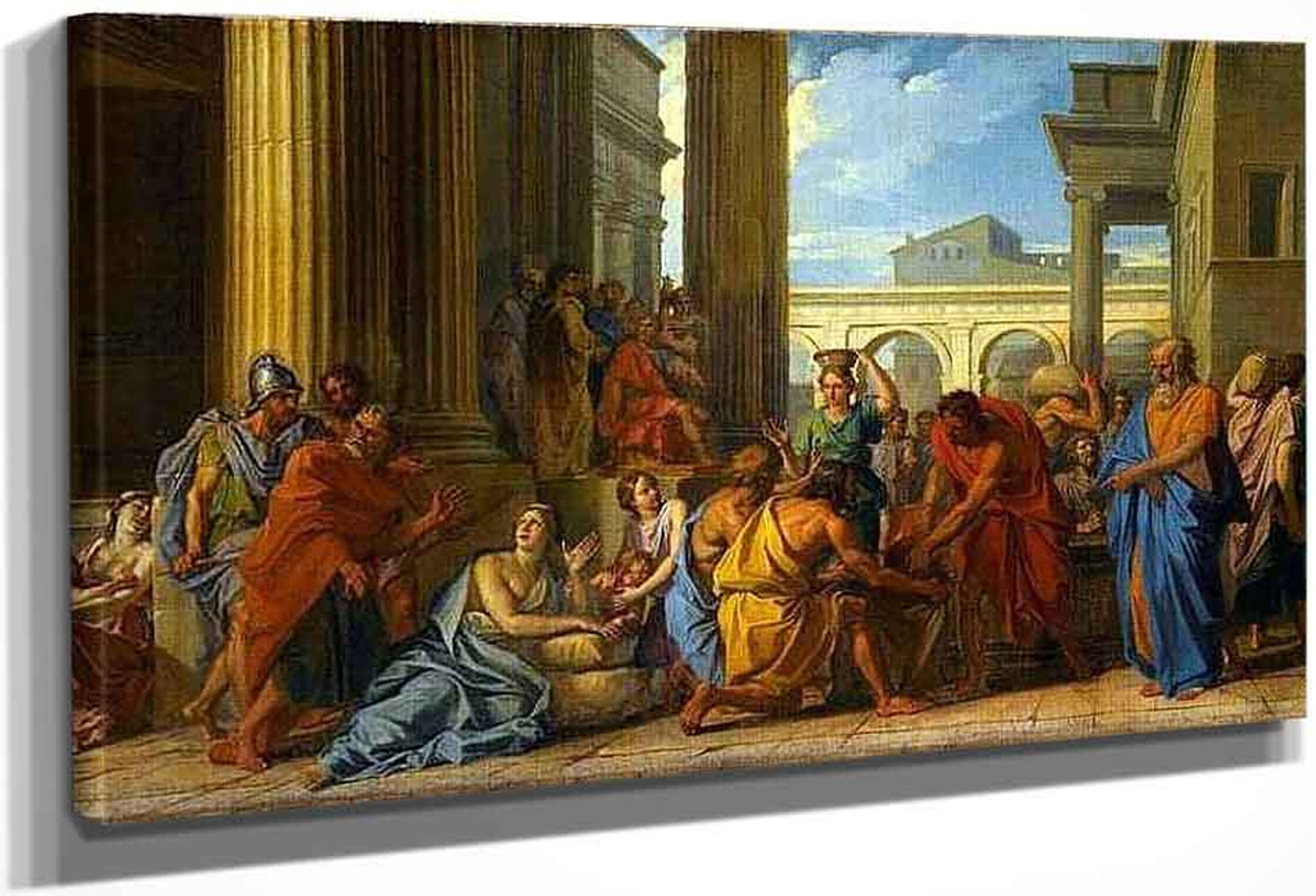 Rome A Noel Alexander Severus Had Distributed Wheat To The People Of Rome By