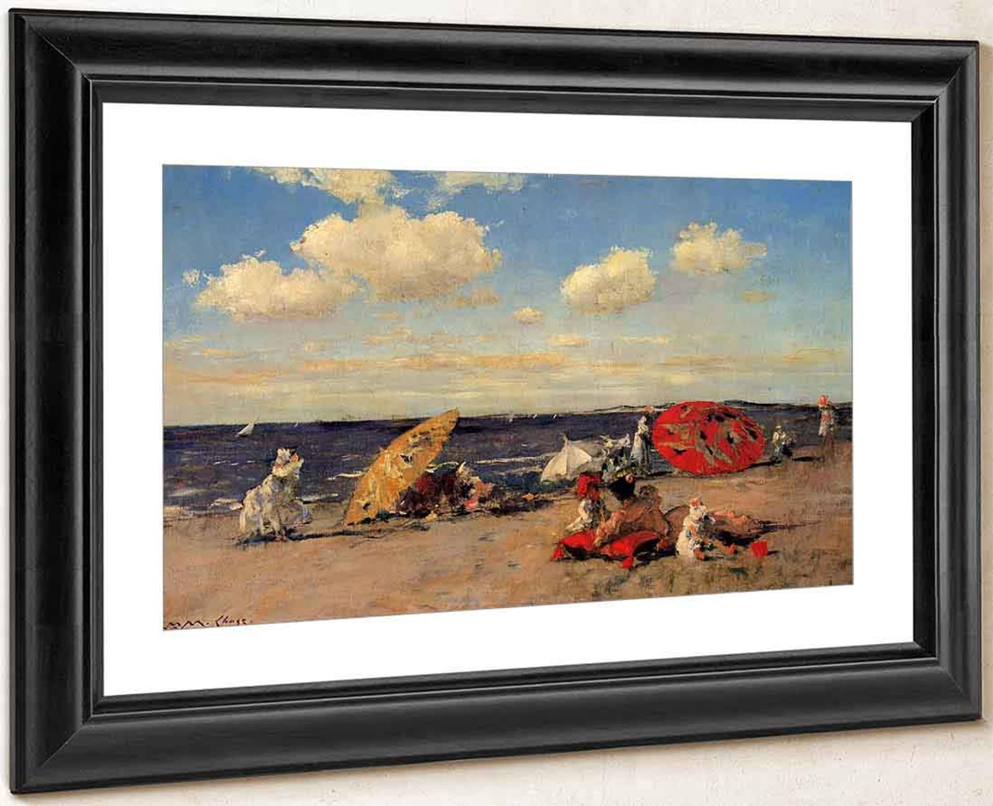Art Nouveau Seaside Painting