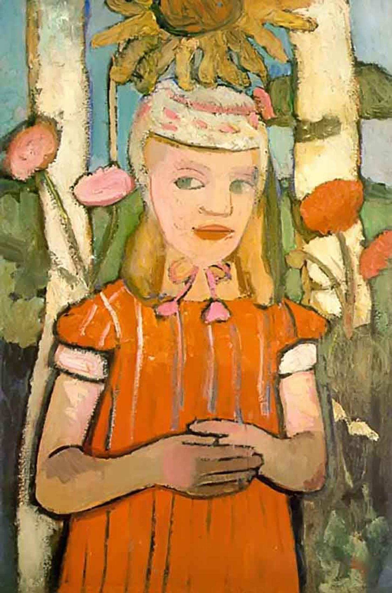 Worpswede Child By Paula Modersohn Becker