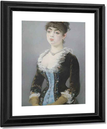 Madame Michel Levy By Edouard Manet By Edouard Manet