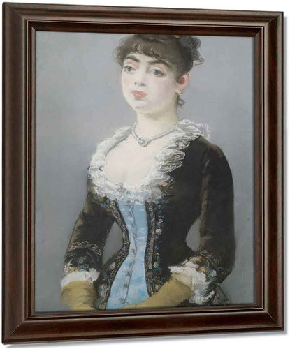 Madame Michel Levy By Edouard Manet