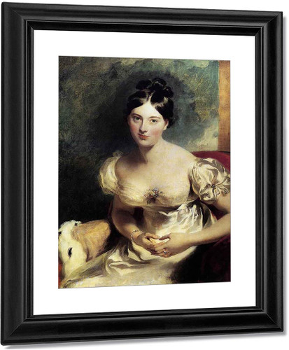 Margaret, Countess Of Blessington By Sir Thomas Lawrence